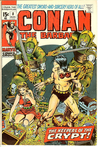 Conan the Barbarian #8 (1971) FN-VF 7.0