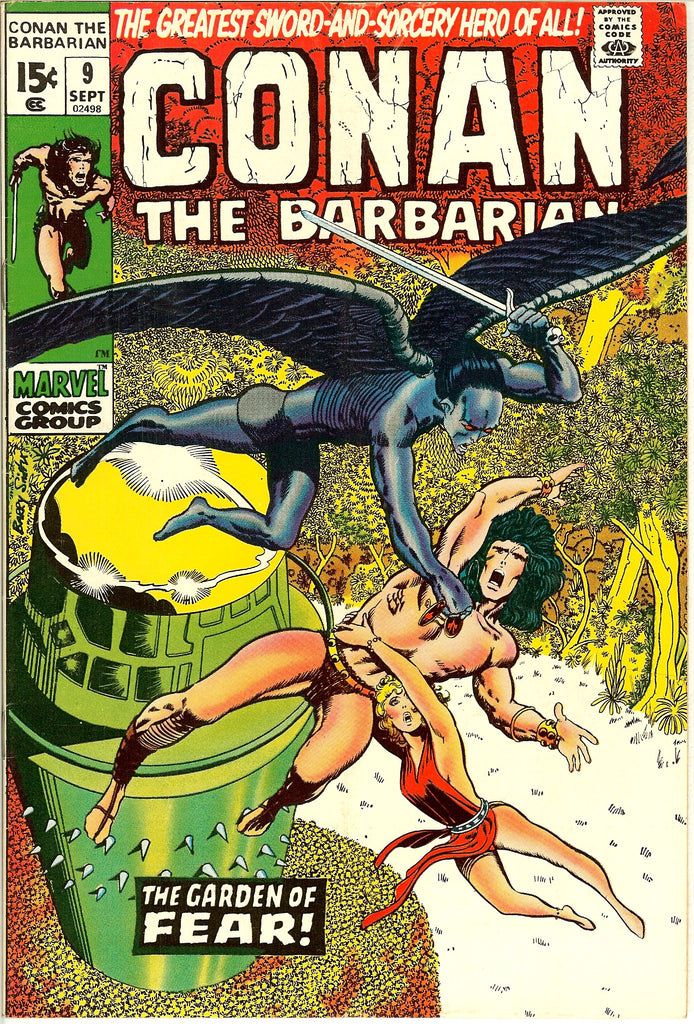 Conan the Barbarian #9 (1971) FN-VF 7.0