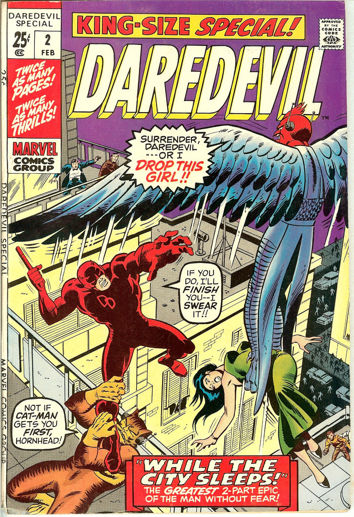 Daredevil King-Size Special #2 1971 FN-VF 7.0