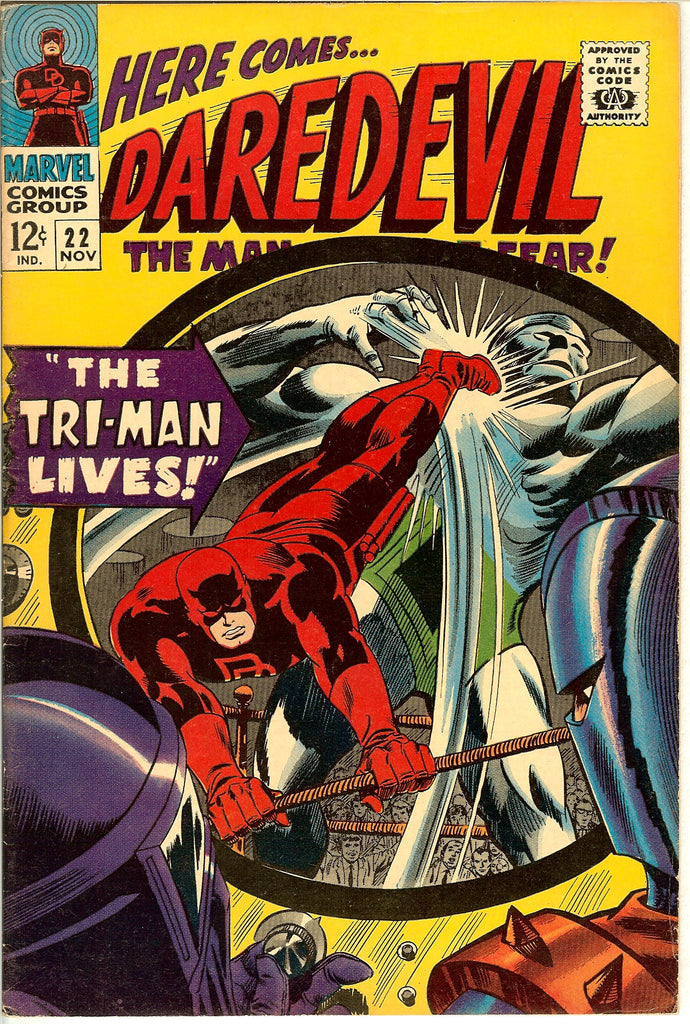 Daredevil #22 Vintage Comic 1966 FN-VF 7.0