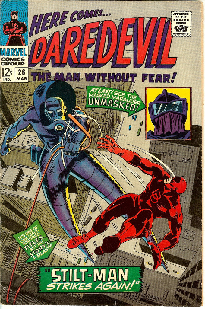 Daredevil #26 Vintage Comic 1967 FN-VF 7.0