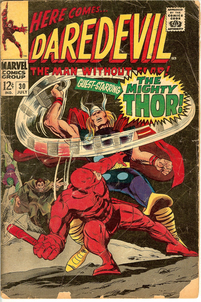 Daredevil Comics ( Lot of 4 ) Vintage 1967-69 VG-FN