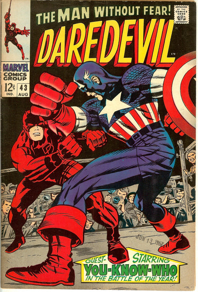 Daredevil #43 Vintage Comic 1968 FN-VF 7.0