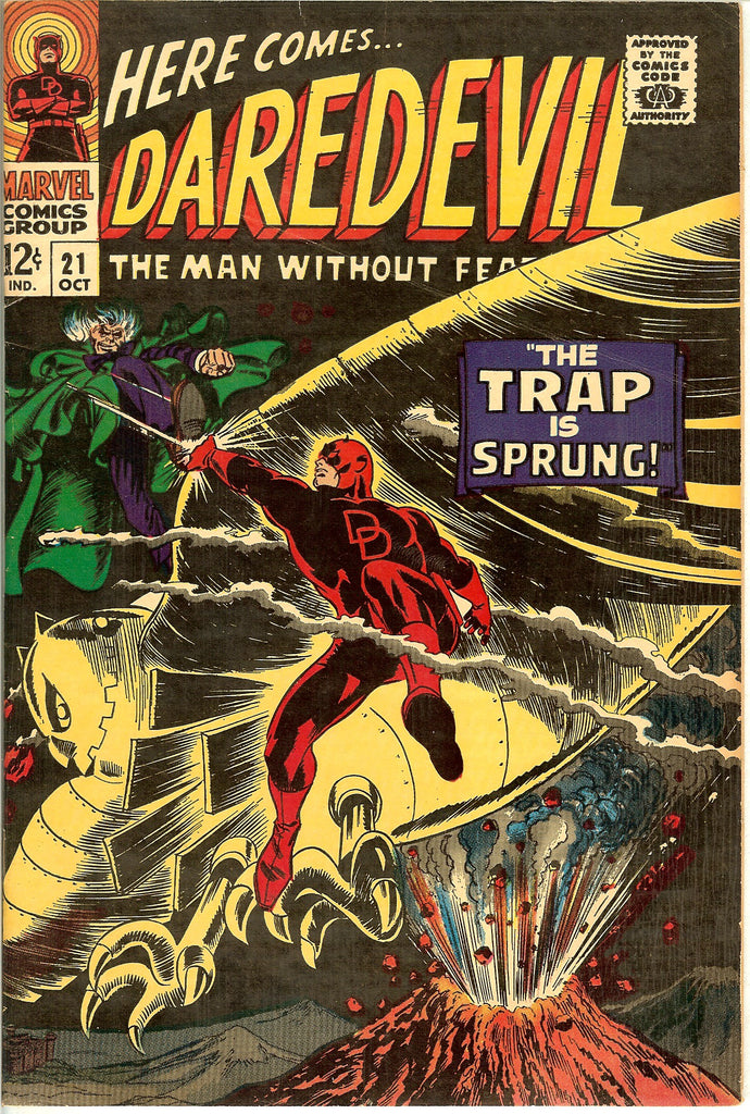 Daredevil #21 Vintage Comic 1966 FN-VF 7.0