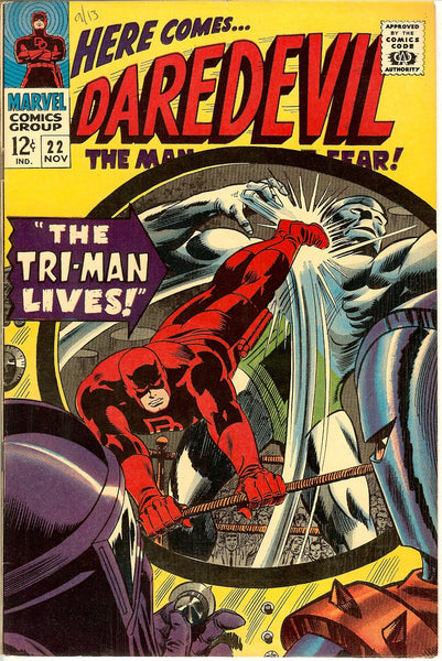 Daredevil #22 Vintage Comic 1966 VF 8.0