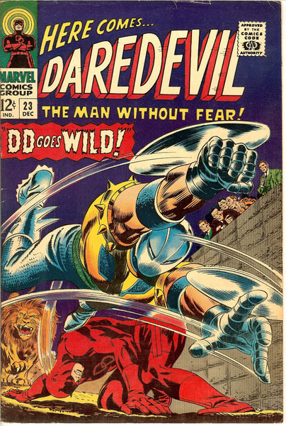 Daredevil #23 Vintage Comic 1966 FN-VF 7.5
