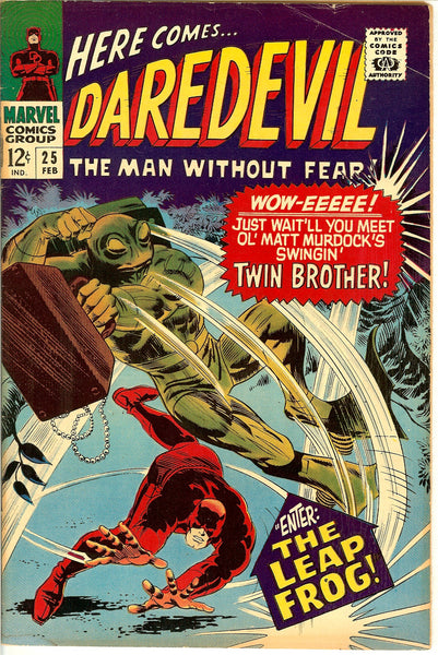 Daredevil Comics ( Lot of 5 ) Vintage 1966-68