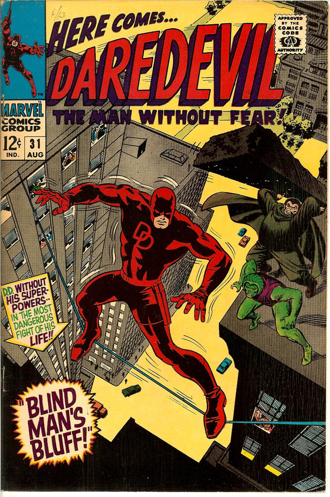 Daredevil #31 Vintage Comic 1967 FN-VF 7.0