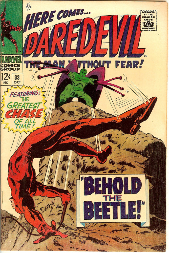 Daredevil #33 Vintage Comic 1967 FN-VF 7.5
