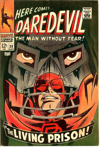 Daredevil #38 Vintage Comic 1968 FN-VF 7.5