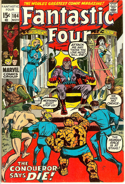 Fantastic Four #104 (1970) VF 8.0