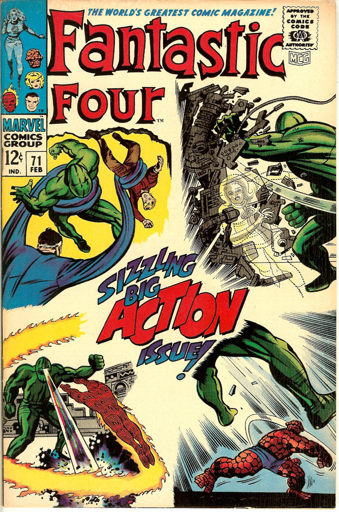 Fantastic Four #71 (1968) FN-VF 7.0