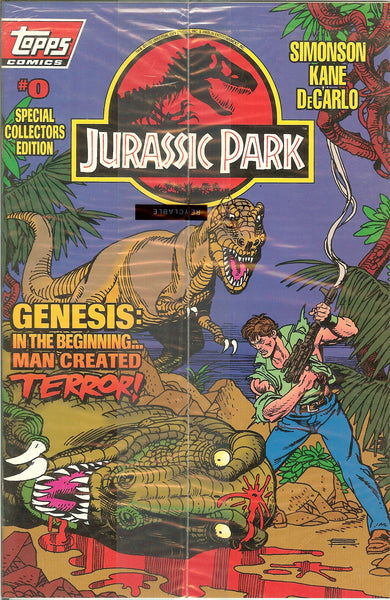 Jurassic Park TP Movie Adaptation Plus Jurassic Park #0 sealed