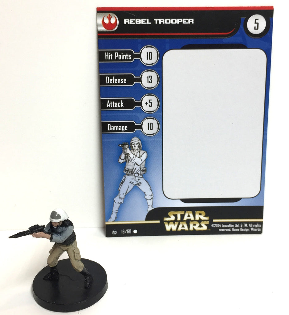 Star Wars Rebel Storm 19/60 Rebel Trooper (C)