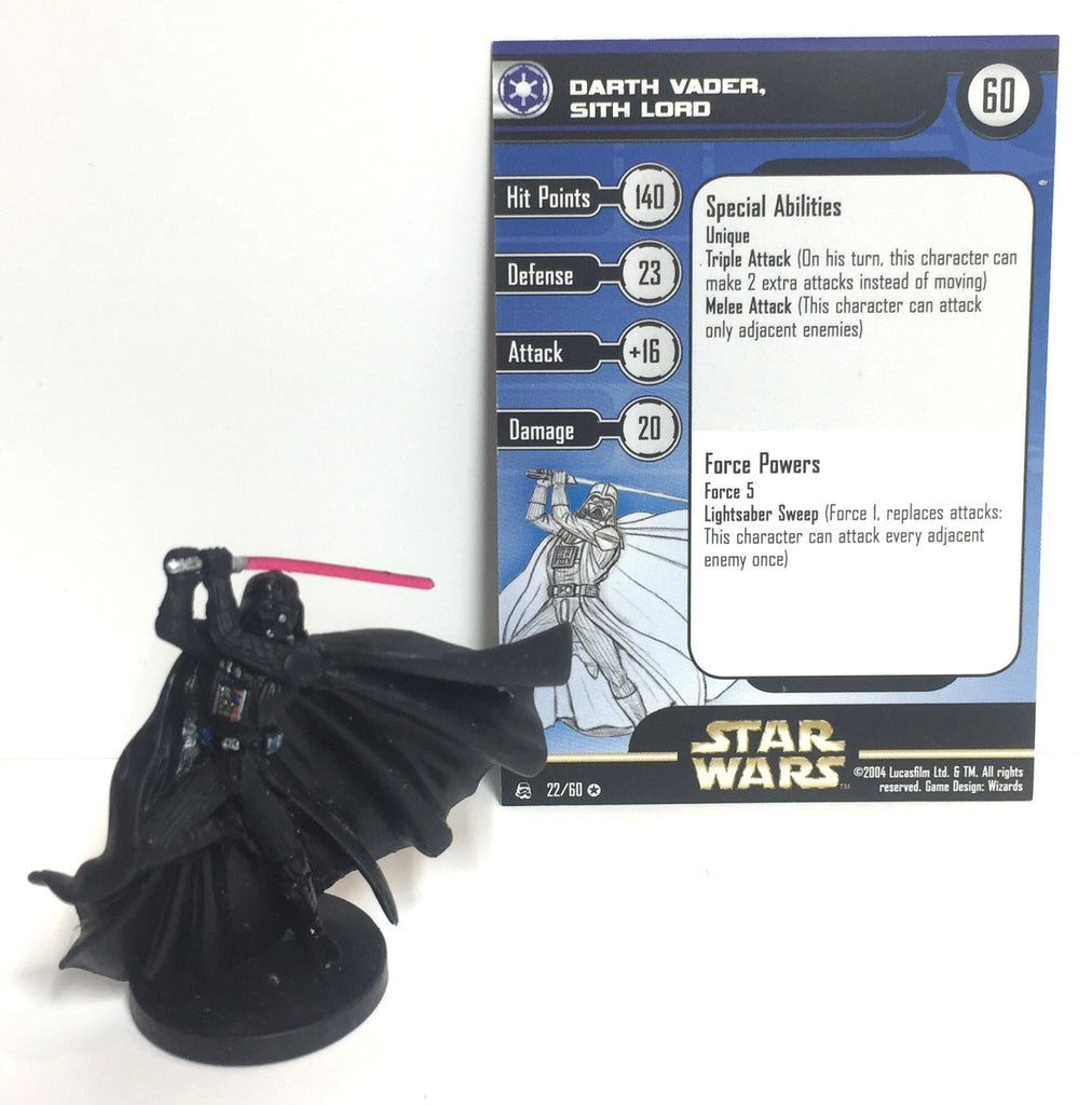 Star Wars Rebel Storm 22/60 Darth Vader (VR) Miniature