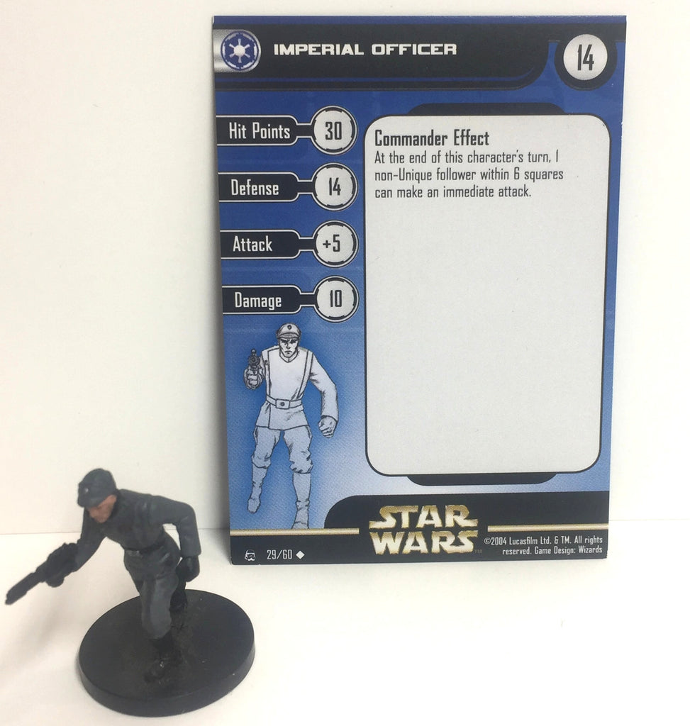 Star Wars Rebel Storm 29/60 Imperial Officer (U)