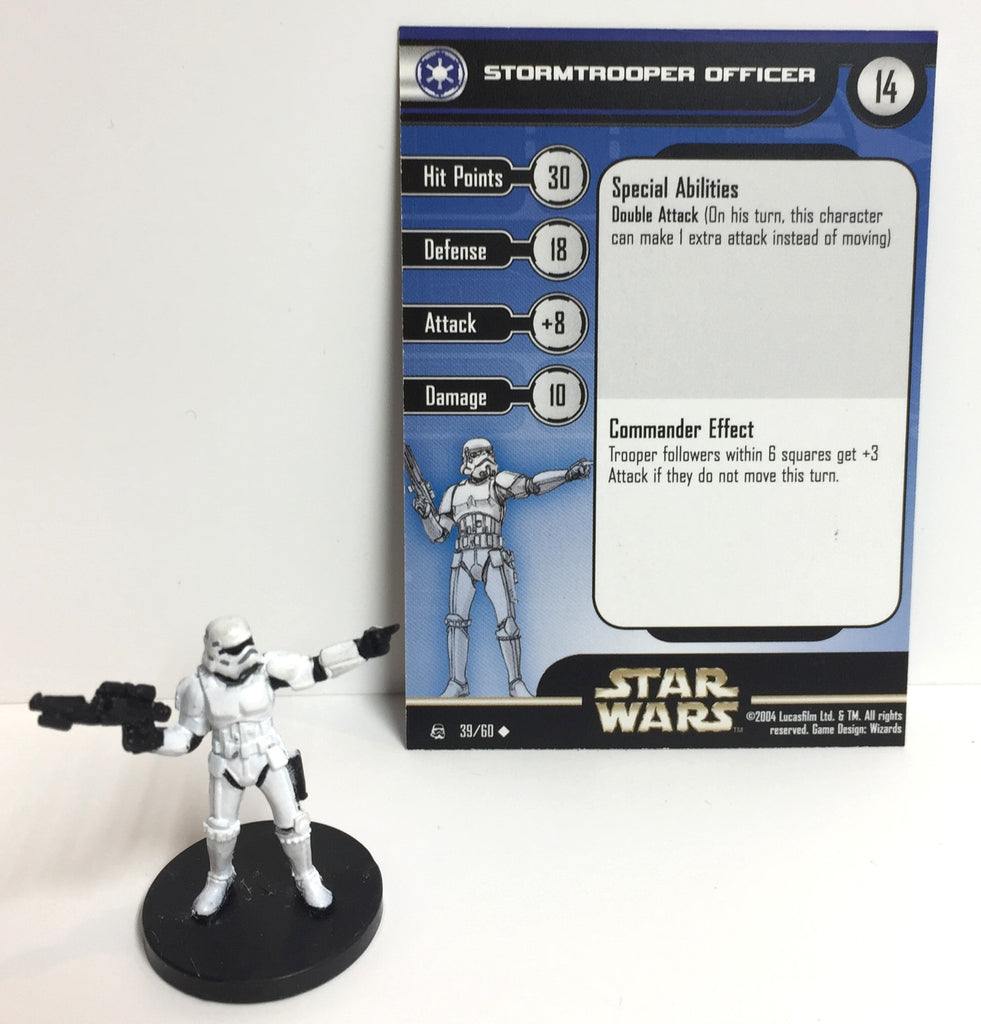 Star Wars Rebel Storm 39/60 Stormtrooper Officer (U)