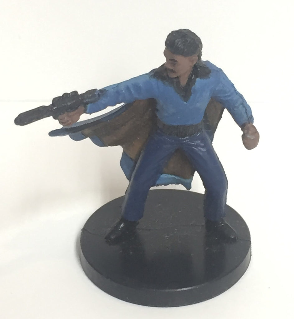Star Wars Rebel Storm 52/60 Lando Calrissian (R) Miniature No Card