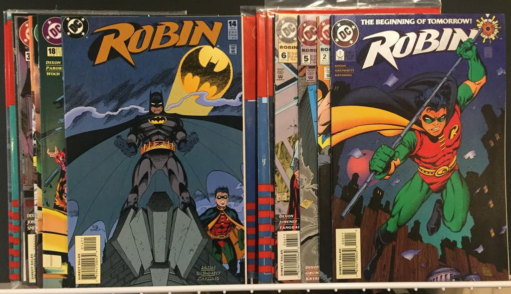 Value Pack ( 16 Comics ) Robin 1990's FREE SHIPPING