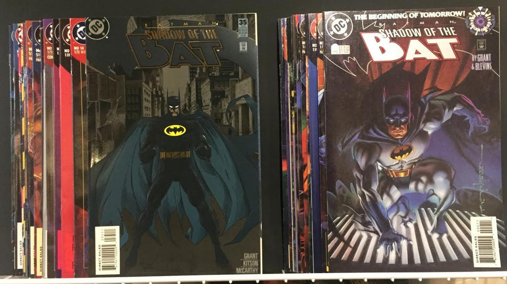 Value Pack ( 28 Comics ) Batman Shadow of the Bat 1990's FREE SHIPPING