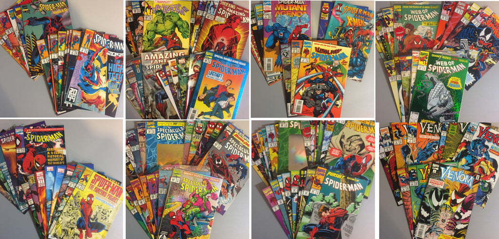 Value Pack ( 50+1 Comics ) Spider-Man & related titles 1990's FREE PRIORITY SHIP