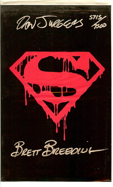Death of Superman #75 Direct & Collector Editions Signed Numbered 5715