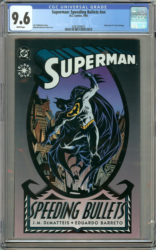 Superman: Speeding Bullets (1993) CGC 9.6 White Pages 0281824025
