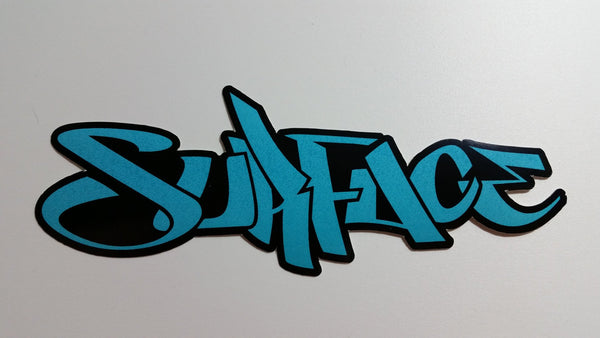 Surface printed Logo Stickers