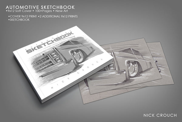Canada Automotive SketchBook