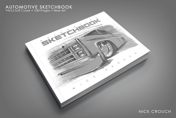 Australia Automotive SketchBook