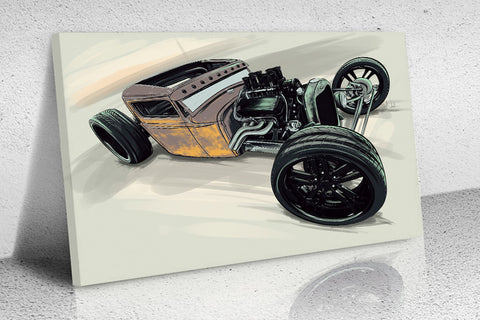 Rat Rod Painting