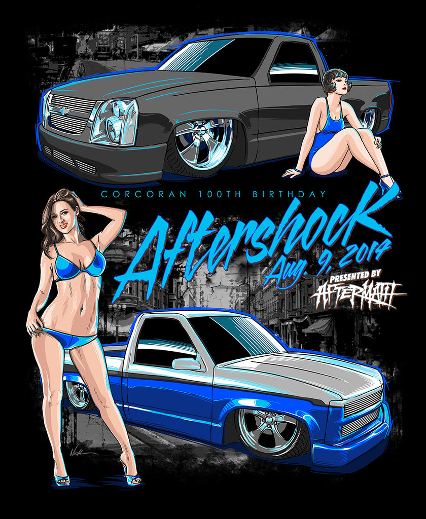 AFTERSHOCK 2014 SHIRT