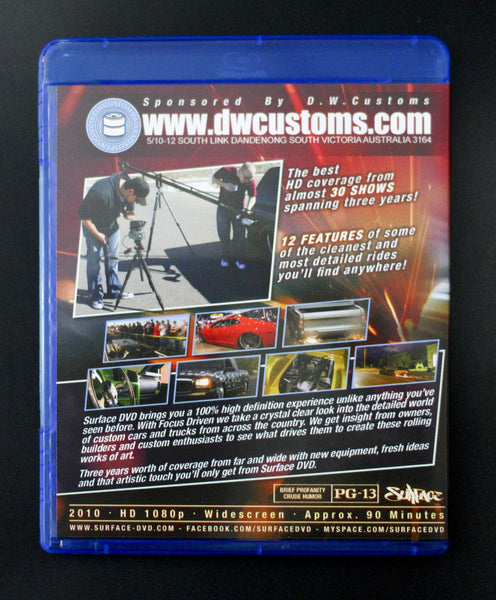 Focus Driven (Bluray/DVD Combo Pack)