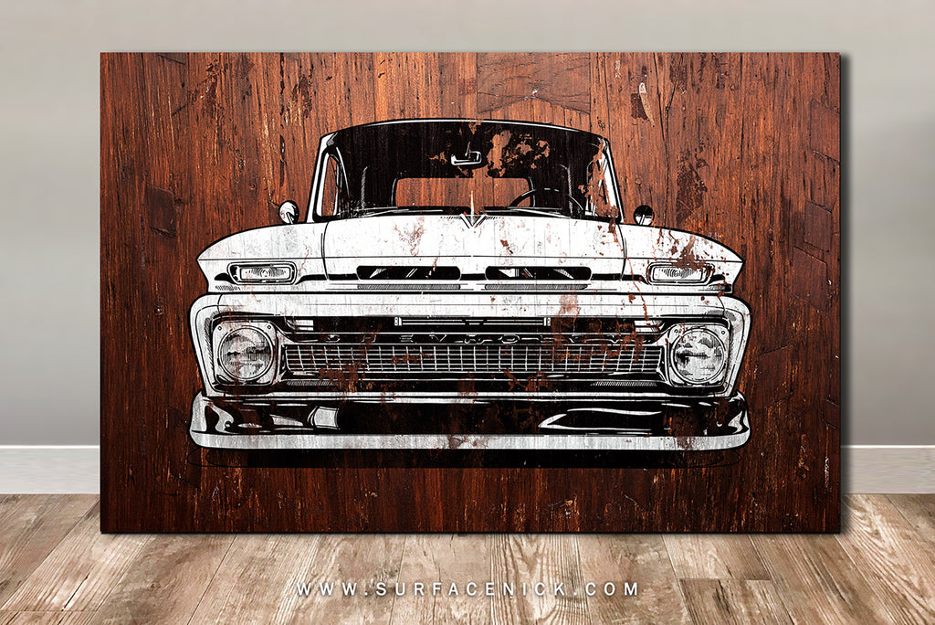 C10 Front on CANVAS