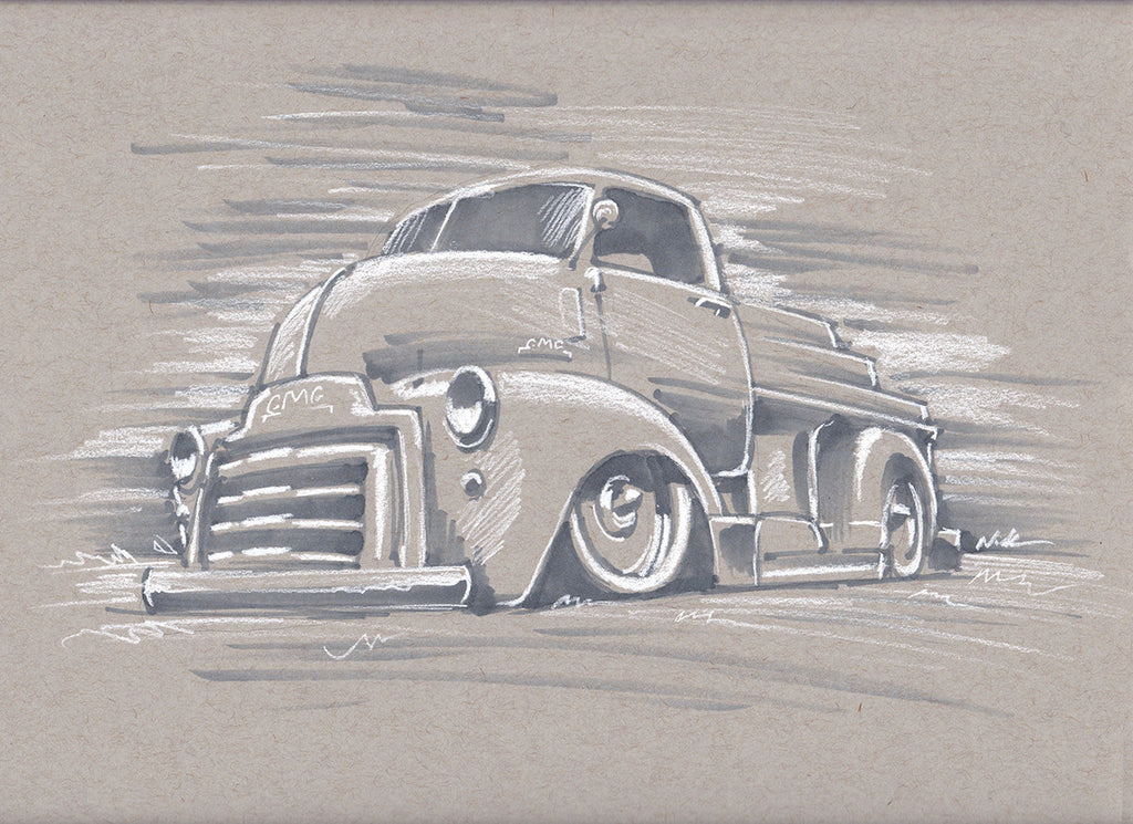 Sketch Gmc cabover
