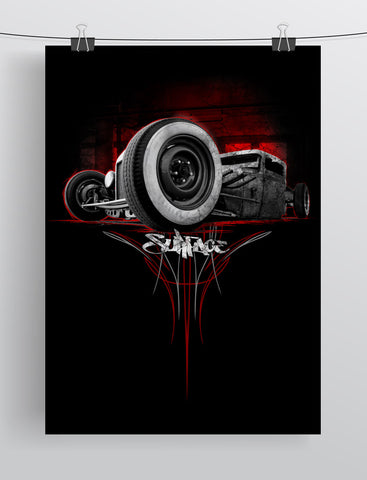 Surface Rat Rod Print