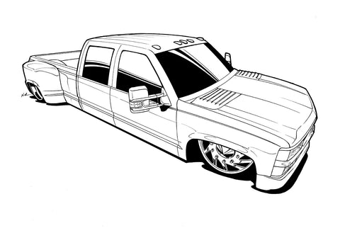 Dually Ink outline
