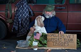 Homeless Veteran Rates Are On The Rise