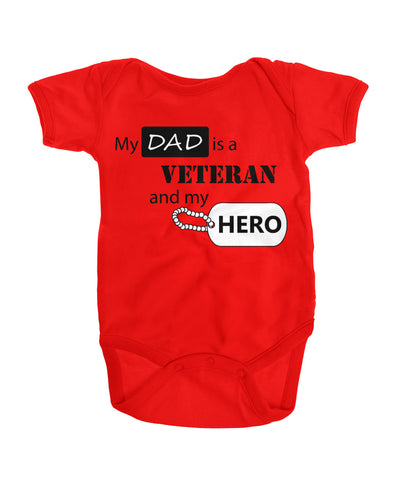 My Dad is a Veteran and a Hero