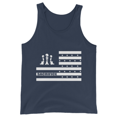"""Sacrifice"" Unisex Tanks"