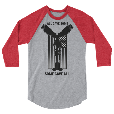 """Some Gave All"" Baseball Tees"