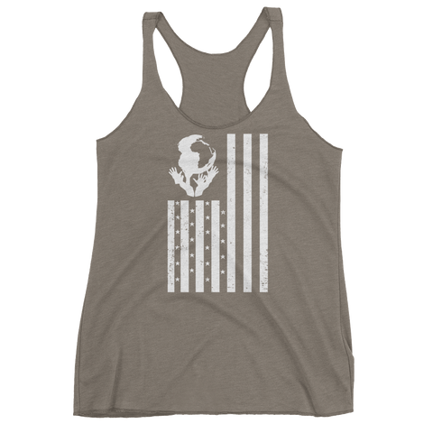 """YOUnity Flag"" Womens Tanks"