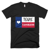 Texas Loves Veterans-MADE IN THE USA Version