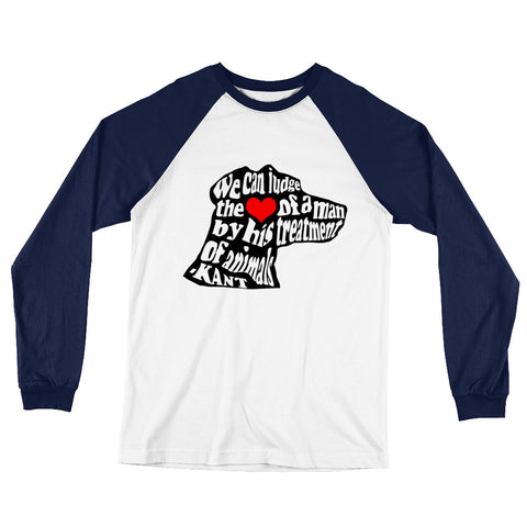 """Judge a Man's Heart"" Baseball Tees"