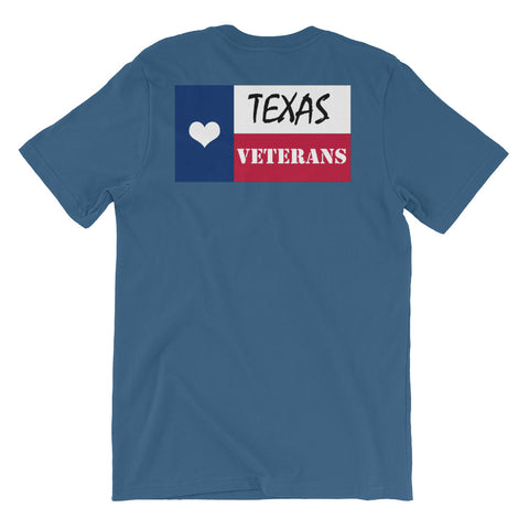 Texas Loves Veterans Tee