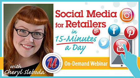 Social Media for Retailers in 15-Minutes A Day