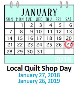 Local Quilt Shop Day