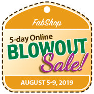 BlowOut Sale Registration - AUGUST 2019