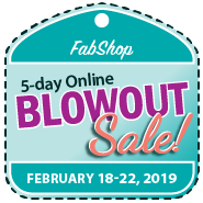BlowOut Sale Registration - FEBRUARY 2019
