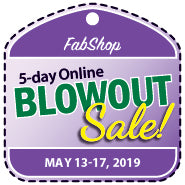 BlowOut Sale Registration - MAY 2019